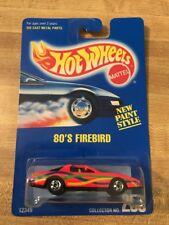 1991 Hot Wheels 80's Firebird New Paint Style #256