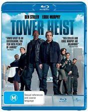 *Brand new & sealed movie* Tower Heist (Blu-ray, 2012) Ben Stiller, Eddie Murphy
