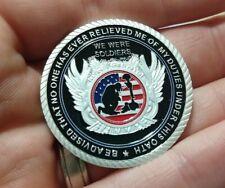 US military Veteran challenge coin United States Patriotism