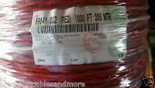 Belden Wire 89841 241p 24awg Low Cap Twist Pair Ffepfep Shield Cable Red 25ft