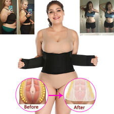 UK Waist Abdominal Shaper Belt for Women Lady Corset Tummy Trimmer Control Band
