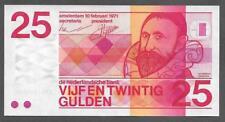 Netherlands 25 Gulden Cat# 92a Suberb Unc Note - P435