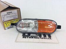 2002-2004 Trailblazer Envoy Left Driver Side Marker Lamp Light new OEM 15161505