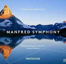 Manfred Symphony (sacd-plays on all cd players), Russian National Orchestra CD |