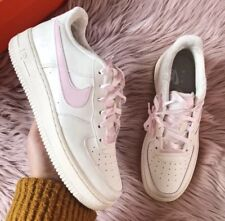 Nike Air Force 1 Low Sail Arctic Pink Satin Size Youth 7 / Women's Size 8.5