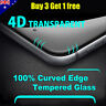 NEW 4D Full Cover Tempered Glass Screen Protector For Apple iPhone X 8 7 6s Plus