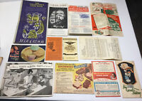 Lot of 12 Vintage Newspaper Magazine Clippings Recipes Betty Crocker, Pet Milk