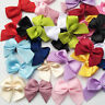 Mini Satin Ribbon Bow Sewing Diy Craft Flower Home Party Wedding Decoration