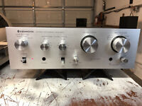 KENWOOD KA-305 Stereo INTEGRATED AMPLIFIER Vintage 1979~ Excellent working