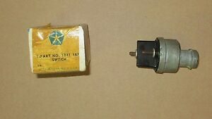 Mopar 1841167 Ignition Switch 1958 1959 Plymouth, Dodge, Chrysler, DeSoto NOS