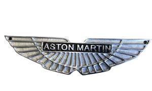 Aston Martin polished cast Aluminium wings Small Sign 30 cm  ASTON MARTIN LOGO