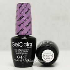 OPI GelColor PASTEL GC 102 DO YOU LILAC IT? 15mL/ 0.5oz UV LED Gel Nail Polish