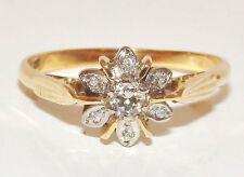 Diamond 18 Carat Anniversary Yellow Gold Fine Rings