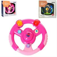 Steering Wheel Game Toy With Light & Sound Baby Kids Pretend Driver Music Toy UK