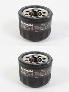 2 Pack Genuine Kawasaki 49065-0721 Oil Filter Fits 49065-7007 OEM