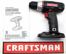 "NEW CRAFTSMAN C3 19.2v VOLT LITHIUM-ION COMPACT 1/2"" CORDLESS DRILL 5275.1"