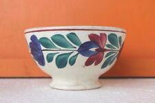 Enamel Bowl Dining Vintage Old Antique Kitchenware Home Decor Collectible C-30