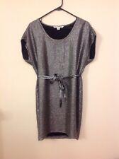 DVF Size 2 Silver Party Dress