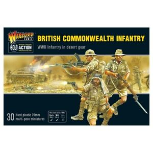 Warlord Games Bolt Action British Commonwealth Infantry