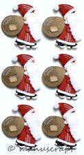 Artoz Artwork 3D-Sticker, Weihnachtsmann mit Sack II