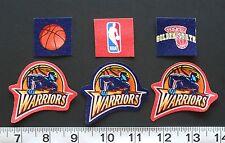 NBA Basketball Golden State Warriors Fabric Iron On Appliques No Sew Logo Shirt
