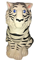 RINGLING BROTHERS Barnum And Bailey White Tiger Stein with lid Beer