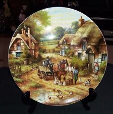 EARLY MORNING MILK BY CHRIS HOWELLS LTD EDITION PLATE #7841A BY WEDGWOOD 1991.