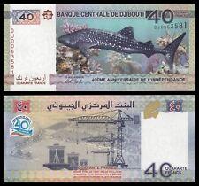 Yibuti - Djibouti 40 Francs 2017 Pick New SC = UNC