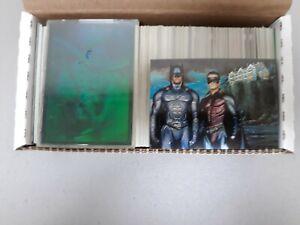1995 fleer ultra batman forever set +robin hologram +extras