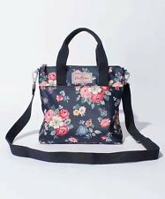 NWT Cath Kidston Shoulder Bag New Navy Rose Crossbody Purse