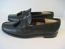 Allen Edmonds MAXFIELD Black Leather Tassel Loafers Shoes Size 10 D ~ USA