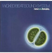WICKED BEAT SOUND SYSTEM - NEW SOUL BREAKS - CD Very Good Condition