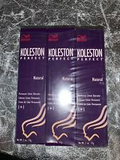 KOLESTON PERFECT ~ WELLA ~ Hair Color-7/0 ~ Medium Blonde 2oz (SEALED- 6 boxes)