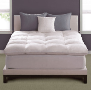 Pacific Coast Baffle Box Feather Bed Various Sizes - Customer Return Clearance