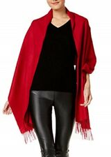 Charter Club Soft Blanket Wrap & Scarf in One Red
