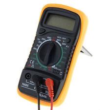 EXCEL Digital Multimeter XL830L Volt Meters Ammeters Ohmmeter Tester Yellow NEW