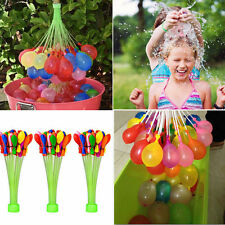 Already Tied. Fill 100 Magic Water Balloons per Minute Bunch 3 Packs Holi Baloon