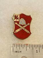 Authentic US Army 10th Field Artillery Brigade DI DUI Unit Crest Insignia G23