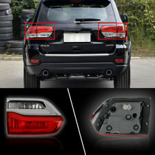 Pair Left & Right Tail Lights Brake Lamps For Jeep Grand Cherokee 2014 2015 2016