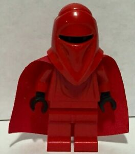 Imperial Emperor Royal Guard with Black Hands Star Wars Lego Minifigure SW0040B