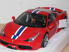 1/18 HOT WHEELS ELITE FERRARI 458 SPECIALE , RED , NEW , BLY31