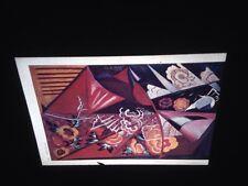 "Natalia Goncharova ""Espagnole"" Russian Avant Garde Cubist 35mm Art Slide"