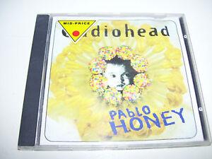 Radiohead - Pablo Honey UK CD 1993