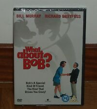 WHAT'S GOING ON WITH BOB-DVD-NEW-NEW-SEALED- (UNOPENED) -SPANISH-BILL MURRAY