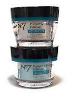 No7 Protect And Perfect Intense Advanced Day Cream and Night Cream 50ml No Box
