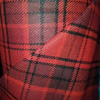 Scottish wool tartan tweed fabric,material ideal for coats,suits 150cm