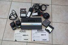 ATARI 2600 met Joystick en paddle controlers + 3 games en Manual in eng. Ned & F