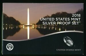 2018-S United States Mint Silver Proof Set w/ CoA CP806