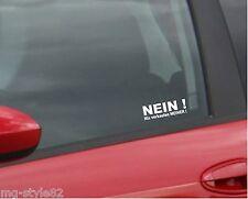 Auto Aufkleber:NEIN Nix verkaufen MEINER/--Set´s Autoaufkleber Sterne uvm