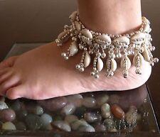 Sea Shell Anklet Bracelet Ankle Feet Jewelry Boho Beach Wedding Barefoot Sandals